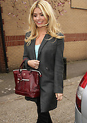 10.APRIL.2013. LONDON<br /> <br /> HOLLY WILLOUGHBY ARRIVING AT THE RIVERSIDE STUDIOS IN HAMERSMITH, LONDON TO FILM CELEBRITY JUICE.<br /> <br /> BYLINE: EDBIMAGEARCHIVE.CO.UK<br /> <br /> *THIS IMAGE IS STRICTLY FOR UK NEWSPAPERS AND MAGAZINES ONLY*<br /> *FOR WORLD WIDE SALES AND WEB USE PLEASE CONTACT EDBIMAGEARCHIVE - 0208 954 5968*