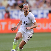 Lauren Holiday, U.S. Women's National Team, in action during the U.S. Women's National Team Vs Korean Republic, International Soccer Friendly in preparation for the FIFA Women's World Cup Canada 2015. Red Bull Arena, Harrison, New Jersey. USA. 30th May 2015. Photo Tim Clayton