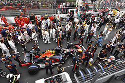 May 26, 2019 - Monte Carlo, Monaco - Motorsports: FIA Formula One World Championship 2019, Grand Prix of Monaco, ..Mechanic of Aston Martin Red Bull Racing  (Credit Image: © Hoch Zwei via ZUMA Wire)
