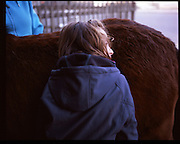 The idea of this particular work emerged from my graduate studies as a therapist through horse riding, including elements of neurology and psychiatry, and training in a therapy centre. <br /> <br /> In Switzerland, where I am based, I have been regularly following the activities of Association Suisse Thérapie Avec le Cheval (ASTAC) and trough them I have access to therapists and their clients all over in Switzerland.