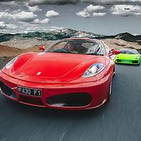 Just out for a drive. #Ferrari #Lamborghini #Drive #Driving #F430 #Gallardo #Mountain #Supercar #Carsofinstagram #Photography #apaphoto