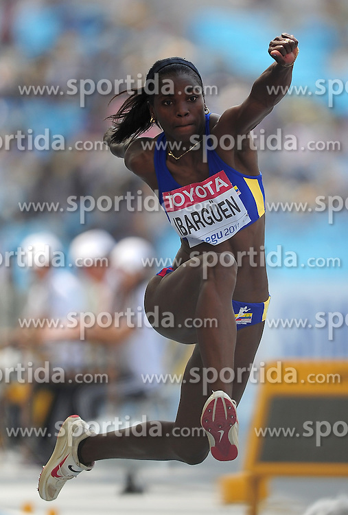 30.08.2011, Daegu Stadium, Daegu, KOR, IAAF, World Championships 2011, im Bild CATERINE IBARGUEN., EXPA Pictures © 2011, PhotoCredit: EXPA/ Newspix/ MAREK BICZYK +++++ ATTENTION - FOR AUSTRIA/ AUT, SLOVENIA/ SLO, SERBIA/ SRB an CROATIA/ CRO, SWISS/ SUI and SWEDEN/ SWE CLIENT ONLY +++++