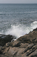ocean spray on rocks, Inis Mor, County Galway