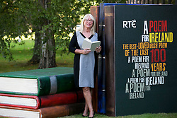 Repro Free: 26/09/2014 <br /> Anne Doyle is pictured at the launch of RT&Eacute; A Poem for Ireland, a major new RT&Eacute; campaign which aims to get the public talking about the poems they feel are the most-loved Irish poems of the past 100 years.<br /> The campaign will be spearheaded by The Works, RT&Eacute; One&rsquo;s flagship arts show, and RT&Eacute; Radio 1&rsquo;s The John Murray Show in partnership with Poetry Ireland and An Post.  RT&Eacute;&rsquo;s A Poem for Ireland will roll out over the course of six months, from its launch on The John Murray Show and The Works on September 26th  to the final unveiling of the Irish public&rsquo;s final choice in March 2015. It will be accompanied by a major digital site where the public can nominate, read and vote for poems. The digital site will build in scale and content as the campaign progresses. www.rte.ie/apoemforireland Picture Andres Poveda