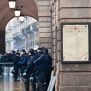 Riots at Milan's La Scala