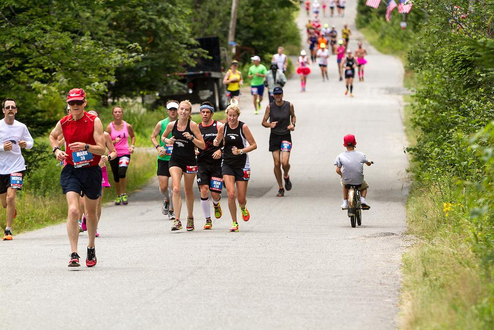 Great Cranberry Island Ultra 50K road race: Sarah, Shawn, Erica