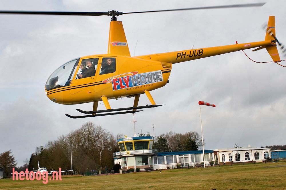 Het nederlandse bedrijf flyhome heeft vliegveld nordhorn als thuisbasis omdat vliegveld twente gesloten is