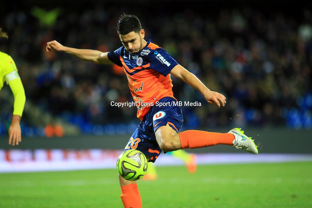 Morgan SANSON  - 24.01.2015 - Montpellier / Nantes  - 22eme journee de Ligue1<br />Photo : Nicolas Guyonnet / Icon Sport
