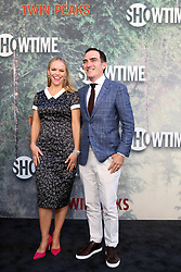 May 19, 2017 - Los Angeles, CA, USA - LOS ANGELES - MAY 19:  Lauren Bowles, Patrick Fischler at the ''Twin Peaks'' Premiere Screening at The Theater at Ace Hotel on May 19, 2017 in Los Angeles, CA (Credit Image: © Kay Blake via ZUMA Wire)