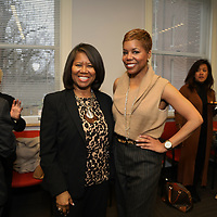 Adrian Bracey, CEO YWCA, Gina Cheatham