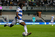 Queens Park Rangers midfielder Eberechi Eze (10) during the EFL Sky Bet Championship match between Queens Park Rangers and Swansea City at the Kiyan Prince Foundation Stadium, London, England on 21 August 2019.