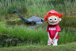Sunny's tour of Scotland. With the Loch Ness monster.