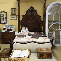 Bedroom furniture is among the long list of items available at Aberdeen Antiques.