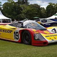 #19 Porsche 962C at Salon Privé Syon Park, London, UK, on 24 June 2011