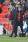 Darren Ferguson  during the Sky Bet League 1 match between Doncaster Rovers and Peterborough United at the Keepmoat Stadium, Doncaster, England on 19 March 2016. Photo by Ian Lyall.