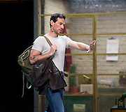 Jonathan Ollivier as Luca <br />  in The Car Man by Matthew Bourne at Sadler&rsquo;s Wells. Ollivier was killed in a motorbike accident a few hours before the final show<br /> <br /> 9th August 2015 <br /> <br /> Photograph by Elliott Franks <br /> Image licensed to Elliott Franks Photography Services