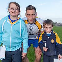 Grainne and Conor Burke from Kilnamona with Clare's Dean Ryan