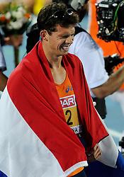 29-07-2010 ATLETIEK: EUROPEAN ATHLETICS CHAMPIONSHIPS: BARCELONA<br /> Tienkamper Eelco Sintnicolaas heeft op de EK atletiek het podium gehaald.<br /> ©2010-WWW.FOTOHOOGENDOORN.NL