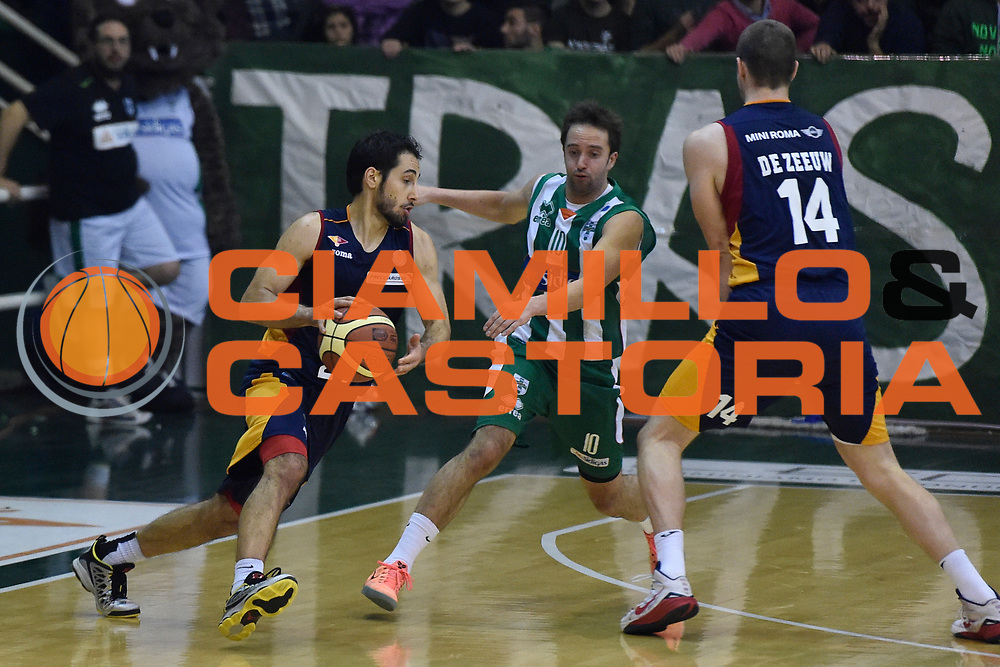 DESCRIZIONE : Campionato 2014/15 Sidigas Scandone Avellino - Virtus Acea Roma<br /> GIOCATORE : Rok Stipcevic<br /> CATEGORIA : Palleggio Penetrazione Controcampo Blocco<br /> SQUADRA : Virtus Acea Roma<br /> EVENTO : LegaBasket Serie A Beko 2014/2015<br /> GARA : Sidigas Scandone Avellino - Virtus Acea Roma<br /> DATA : 13/12/2014<br /> SPORT : Pallacanestro <br /> AUTORE : Agenzia Ciamillo-Castoria / GiulioCiamillo<br /> Galleria : LegaBasket Serie A Beko 2014/2015<br /> Fotonotizia : Campionato 2014/15 Sidigas Scandone Avellino - Virtus Acea Roma<br /> Predefinita :Predefinita :