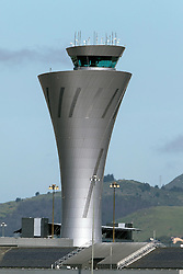 Control tower at San Francisco International Airport (SFO), Millbrae, California, United States of America