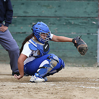 Piedmont Hills vs Prospect in a BVAL Girls Softball Game at Prospect High School, Saratoga CA on 4/12/16. (Photograph by Bill Gerth (williamgerth.com))