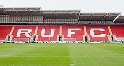 A general view of Rotherham United's Aesseal New York Stadium - Mandatory by-line: Ryan Crockett/JMP - 20/01/2018 - FOOTBALL - Aesseal New York Stadium - Rotherham, England - Rotherham United v Portsmouth - Sky Bet League One