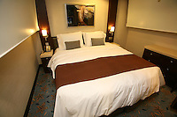 The launch of Royal Caribbean International's Oasis of the Seas, the worlds largest cruise ship..Staterooms.Presidential suite, 2nd bedroom