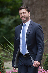 Downing Street, London July 15th 2014. New Welsh Secretary Stephen Crabb arrives at 10 Downing Street.