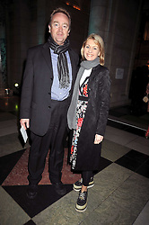 GREG & KATE MOSSE at the Orion Publishing Group Author Party held at the V&A, London on 18th February 2009.