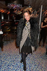 ALICE TEMPERLEY at a party to celebrate the first anniversary of SushiSamba at the Heron Tower, 110 Bishopsgate, London EC4 on 12th November 2013.