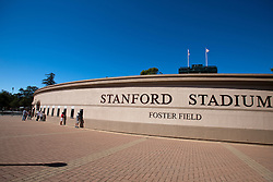 Oct 8, 2011; Stanford CA, USA;  General view of the exterior of Stanford Stadium before the game between the Stanford Cardinal and the Colorado Buffaloes.  Stanford defeated Colorado 48-7. Mandatory Credit: Jason O. Watson-US PRESSWIRE