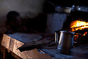 Diamantina_MG, Brasil...Detalhe da preparacao de cafe em fogao a lenha em Diamantina, Minas Gerais...Coffee preparation on firewoodstove in Diamantina, Minas Gerais...Foto: LEO DRUMOND / NITRO