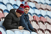 Burnley fans during the Premier League match between Burnley and Fulham at Turf Moor, Burnley, England on 12 January 2019.