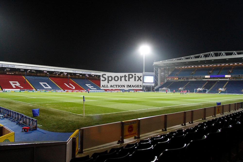 Ewood Park during Blackburn Rovers v Nottingham Forest, SkyBet Championship, Monday 14th December 2015, Ewood Park, Blackburn