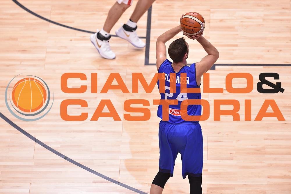 Filippo Baldi rossi<br /> Nazionale Italiana Maschile Senior<br /> Eurobasket 2017 - Group Phase<br /> Georgia  Italia Georgia Italy<br /> FIP 2017<br /> Tel Aviv, 06/09/2017<br /> Foto Ciamillo - Castoria/ GiulioCiamillo