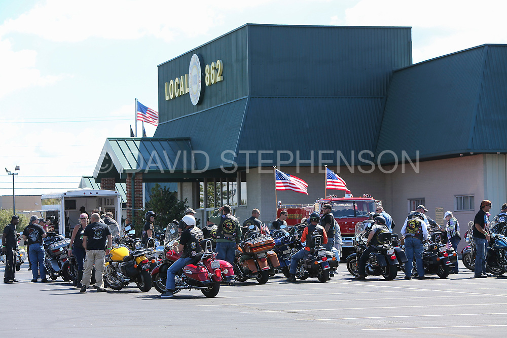 Riders for Heroes Bike Show at the LAP Union Hall in Louisville, Ky., Sunday, September 11, 2016.