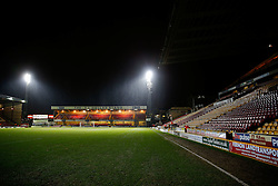 General View inside the stadium before the match - Photo mandatory by-line: Rogan Thomson/JMP - 07966 386802 - 14/01/2015 - SPORT - FOOTBALL - Bradford, England - Coral Windows Stadium - Bradford City v Millwall - FA Cup Third Round Replay.