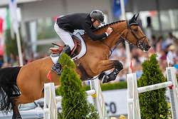 McAuley Mark, IRL, Valentino Tuiliere<br /> Grand Prix Rolex powered by Audi <br /> CSI5* Knokke 2019<br /> © Hippo Foto - Dirk Caremans<br /> McAuley Mark, IRL, Valentino Tuiliere