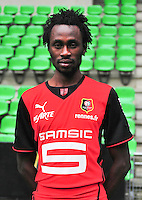 Jonathan PITROIPA - 19.09.2013 - Photo officielle - Rennes - Ligue 1<br /> Photo : Philippe Le Brech / Icon Sport