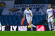 Aapo Halme of Leeds United (52) in action during the EFL Sky Bet Championship match between Leeds United and Bristol City at Elland Road, Leeds, England on 24 November 2018.