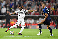 FUSSBALL UEFA Nations League in Muenchen Deutschland - Frankreich       06.09.2018 Ilkay Guendogan (li, Deutschland) gegen Lucas Hernandez (re, Frankreich) --- DFB regulations prohibit any use of photographs as image sequences and/or quasi-video. ---
