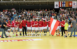 02.11.2016, Arena Nova, Wiener Neustadt, AUT, EHF, Handball EM Qualifikation, Österreich vs Finnland, Gruppe 3, im Bild die Mannschaft von Österreich// during the EHF Handball European Championship 2018, Group 3, Qualifier Match between Austria and Finland at the Arena Nova, Wiener Neustadt, Austria on 2016/11/02. EXPA Pictures © 2016, PhotoCredit: EXPA/ Sebastian Pucher