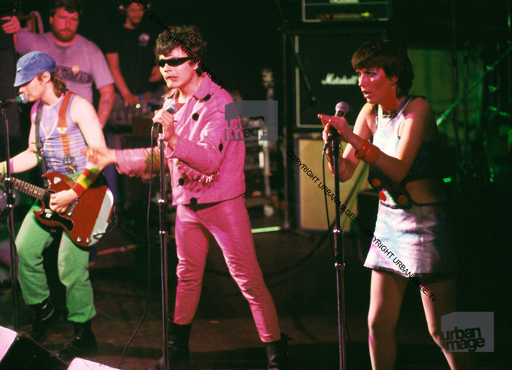 Fay Fife - Rezillos live London 1979