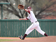March 20, 2015: The Texas A&M International University Dustdevils play against the Oklahoma Christian University Eagles at Dobson Field on the campus of Oklahoma Christian University.
