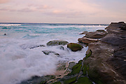 View from Tamarama Beach, Sydney,