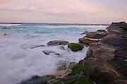 View from Tamarama Beach, Sydney,