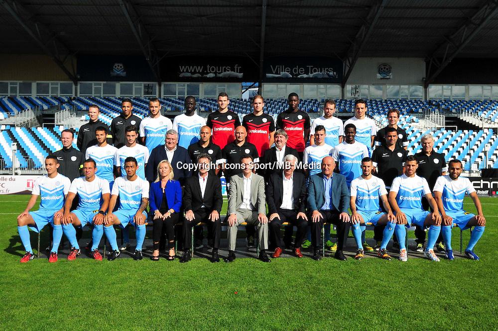 Equipe Tours - 20.09.2014 - Photo officielle - Tours - Ligue 2<br /> Photo : Philippe Le Brech / Icon Sport