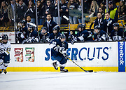 during the second period of the Division 1 State championship game against St. Mary's at the TD Garden, March 19, 2017.   [Daily News Photo /James Jesson]