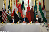 U.S. Secretary of State John Kerry during the Arab Peace Initiative in Paris