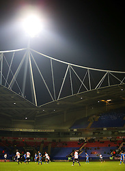 Lots of empty seats during play at the Macron Stadium - Mandatory byline: Matt McNulty/JMP - 19/01/2016 - FOOTBALL - Macron Stadium - Bolton, England - Bolton Wanderers v Eastleigh - FA Cup Third Round